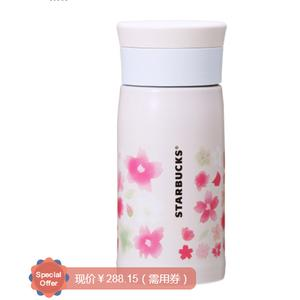 <font color='red'>Thermos</font><font color='red'>膳魔师</font> Starbucks星巴克合作款 樱花保温杯350ml