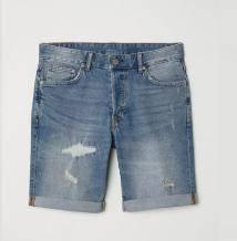 H&M 修身牛仔短裤 HM0585355