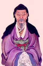 赵孟頫半身画像