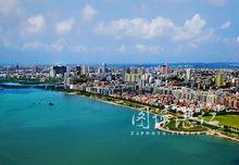 雷州半岛上主要城市:广东省湛江市