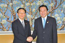 中国财政部长谢旭人和野田佳彦